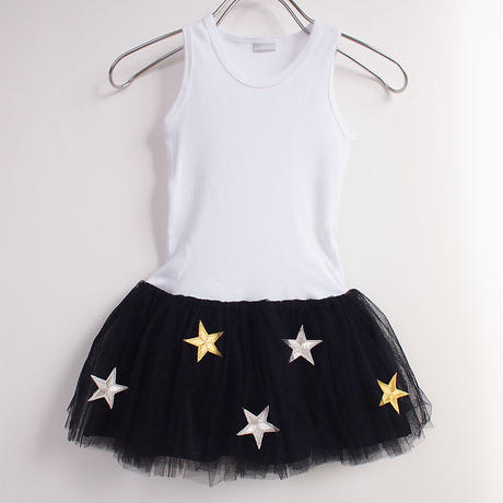 Star tulle tankdress