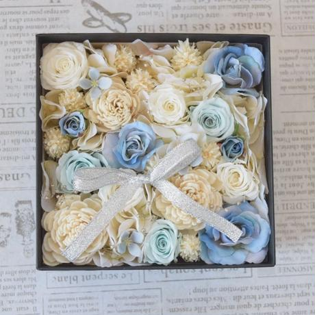 BOX FLOWER Blue