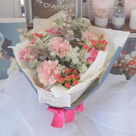 【生花】母の日ブーケ Sサイズ