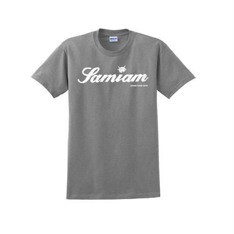 SAMIAM JAPAN TOUR 2019 デビルロゴTシャツ(グレー)