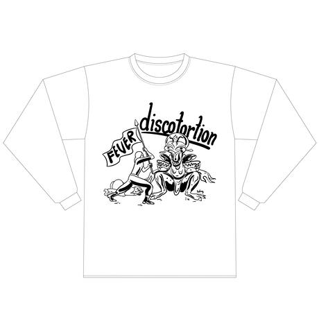 discotortion + Rick Froberg【 「 FEVER to the GURU」 T-shirt】