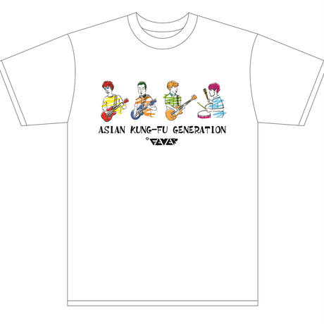 ASIAN KUNG-FU GENERATION【AKGイラストT-shirts】