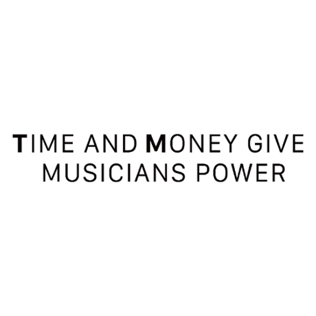 【Time and Money give musicians power -Tshirt-】
