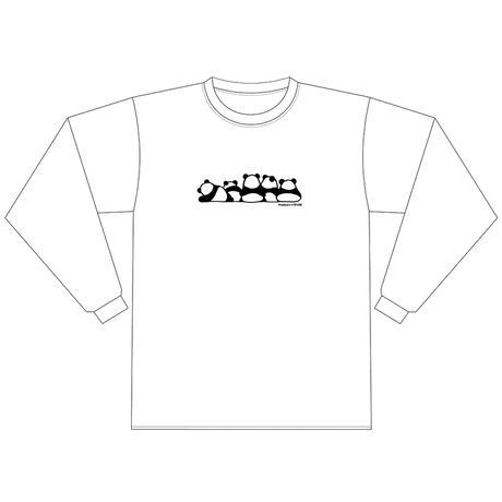 """Predawn【Predawn Long Sleeve T-shirt """"P Is for Panda""""】"""