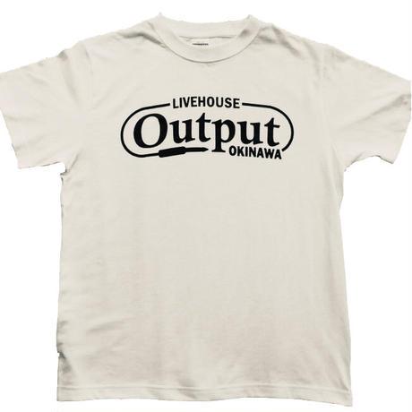Output オリジナルTシャツ 白