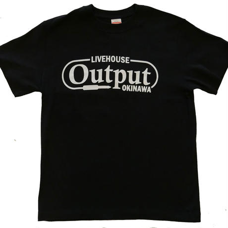 Output オリジナルTシャツ 黒