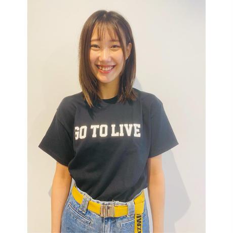 Go To Live Tee (BLACK)