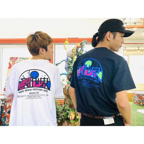 2020.8.1『NEO SEKAI FESTIVAL 2020』T-shirts(white)