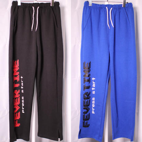FEVERTIME GAME PANTS BLACK/BLUE