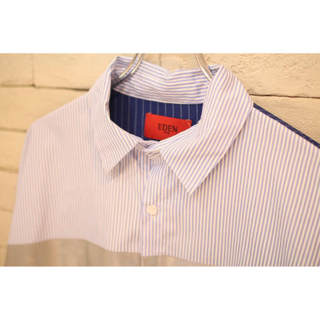 REFLECTOR STRIPE SHIRTS BLUE