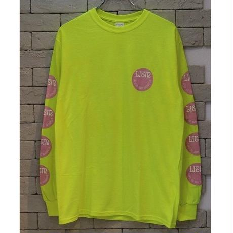 LIVE IN THE MOMENT L/S OG TEE SFETY GREEN