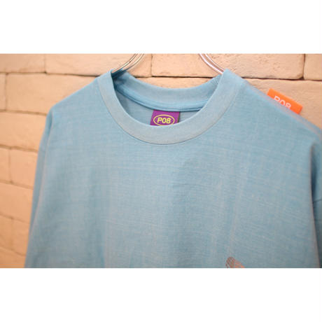 PARAGRAPH CLASSIC REFRECTOR LOGO TEE BLUE