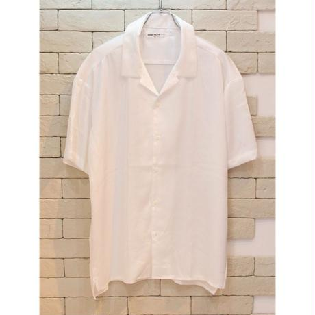 S/S SATIN SHIRTS WHITE