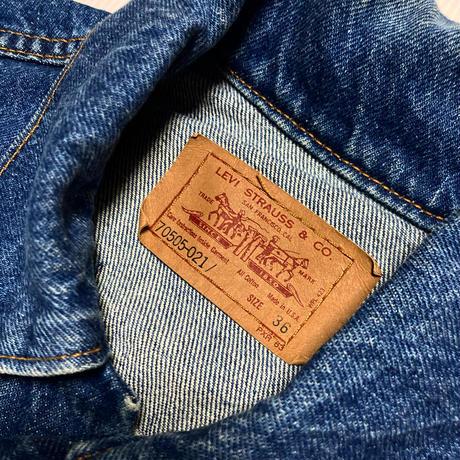 レディース LEVIS USA製 デニムジャケット #27