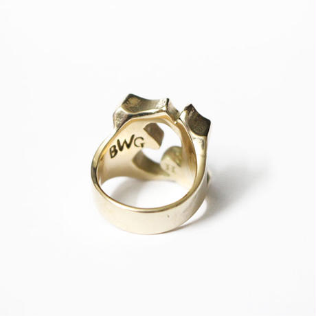 "B.W.G / HATCHET Collabo ""13"" PINKY RING / リング"