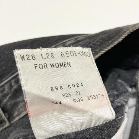 レディース LEVIS USA製 501 W28 #29