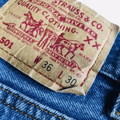 80年代Levi's 501 w36 made in usa