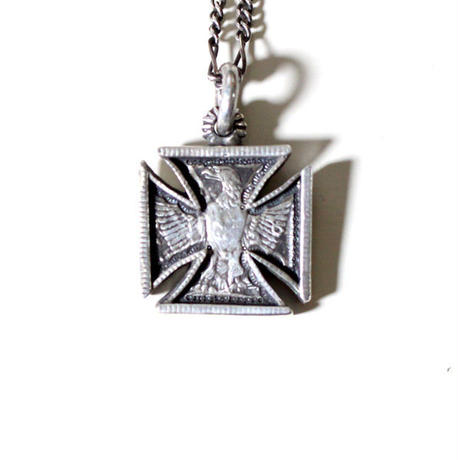 B.W.G x CHOOKE / EAGLE IRONCROSS NECKLACE