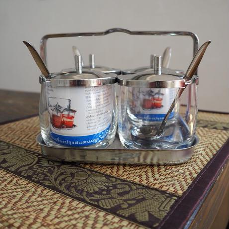 調味料入れ ガラス製 チュットクルアンプルン