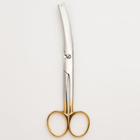 臍帯剪刀ケースセット Wooden Case and Scissors for Omphalotomy