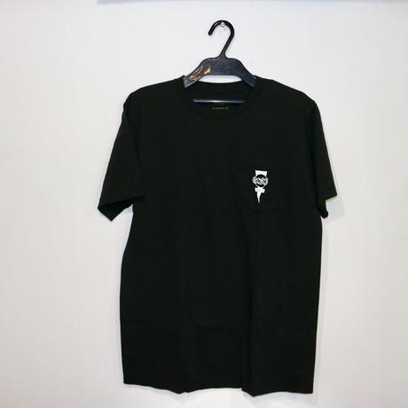 新品【RVCA】 ルーカ&ホソイ コラボTシャツ ブラック メンズ