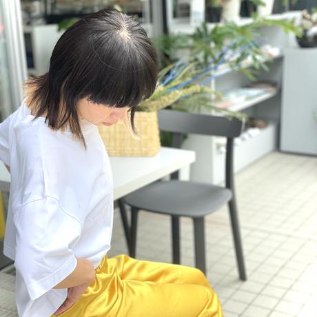 ATWT オリジナル カラーサテンパンツ   イエロー