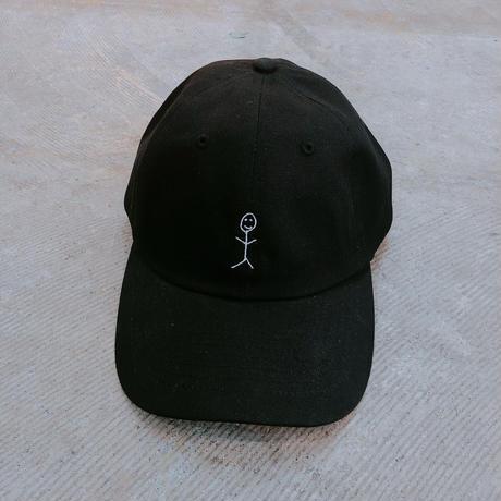 平山昌尚(HIMAA) ×  LIVERARY Extra CAP(棒人間) wh/bl