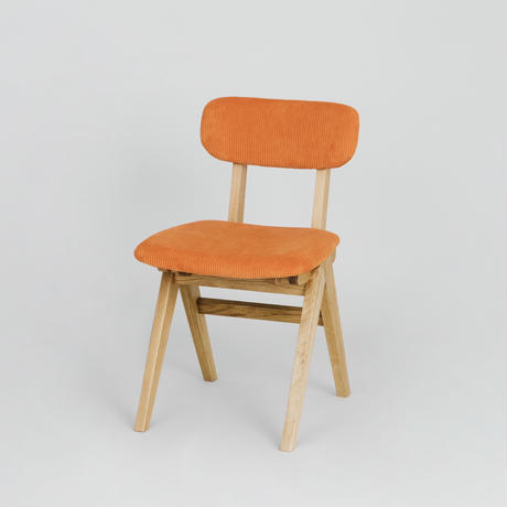 Corduroy Mountain Leg Chair