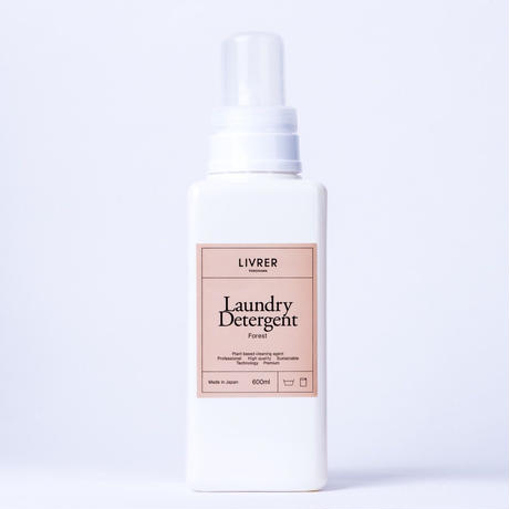 600ml】洗濯用洗剤 フォレスト/Landry Detergent ▶Forest 4589782810039