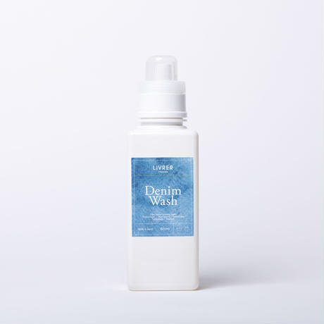 600ml】デニムウォッシュ / Denim Wash ▶︎Fragrance Free<洗濯糊(せんたくのり)配合、色止め効果をプラス>