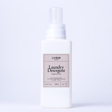 600ml】洗濯用洗剤 無香料/Landry Detergent ▶Fragrance FREE <綿、麻、合成繊維用>