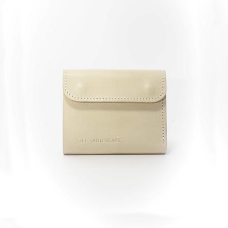 """Half wallet """"beige"""""""