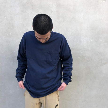 DEUCE ORIGINAL ネイビーL/S Tシャツ