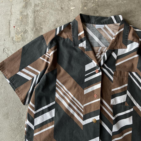 Petite Workshop Cotton Open Collar Shirts