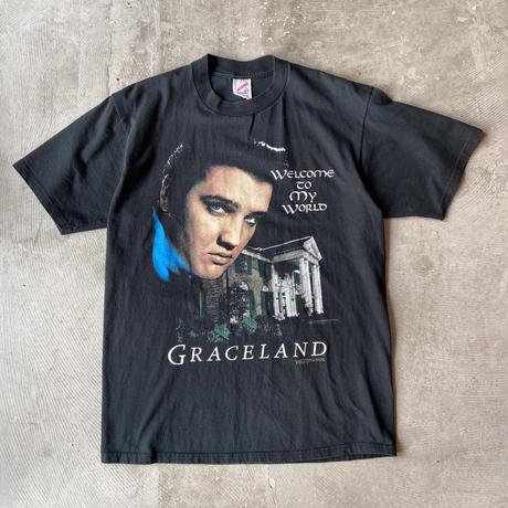 90s Jerzees Elvis Presley GRACELAND Tee