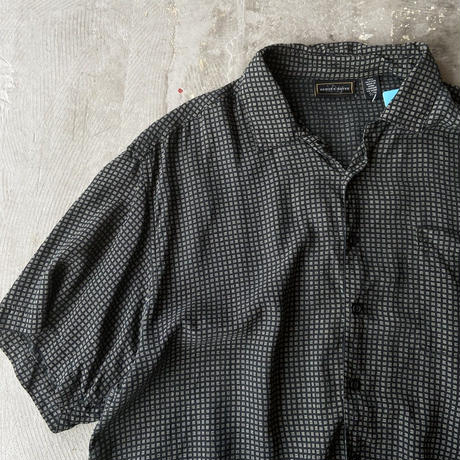 DENVER HAYES Silk Open Collar Shirts