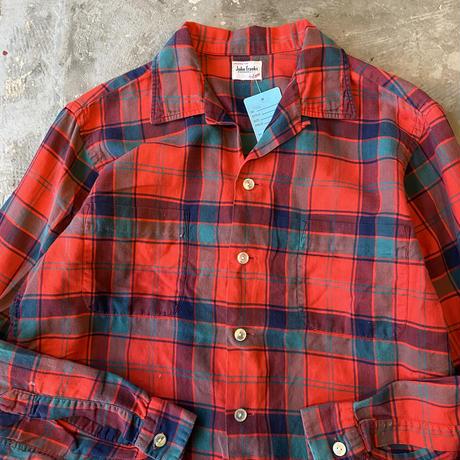 60s ENRO John franks Open Coller Shirts