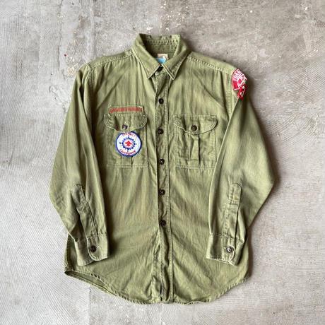 1960s BOY SCOUTS OF AMERICA Cotton Shirts