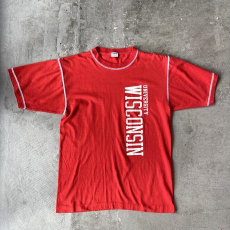 "1970s Champion Tee ""Univ. Wisconsin"""