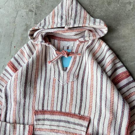 Mexican Baja Hoodie Stripes