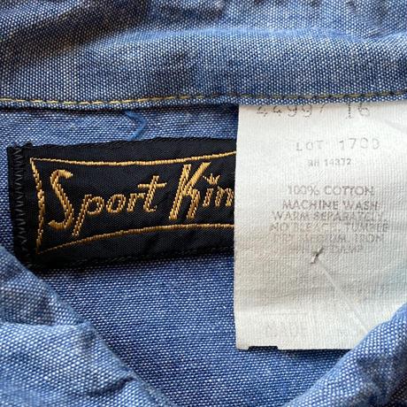 70s Sport King Chambray Western Shirts