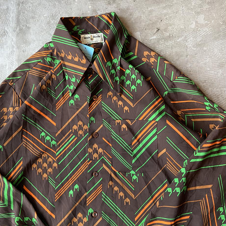 1970s Male Duds Polyester Shirts