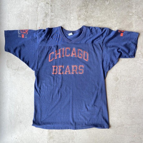 "1980s Champion Football Game Shirts ""CHICAGO BEARS"""