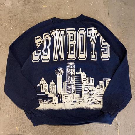 80s-90s Hanes Dallas Cowboys Raglan Sweat