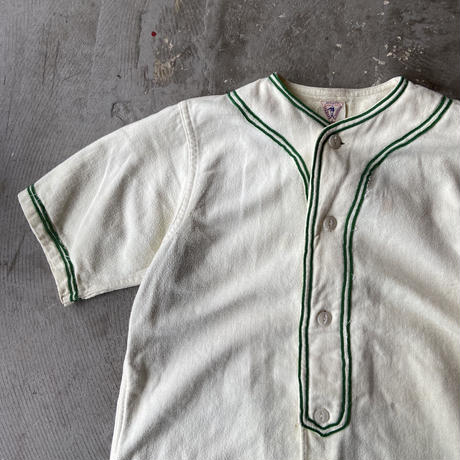 1930s-40s GENERAL ATHLETIC PRODUCTS Co. マチ付き Baseball Shirts