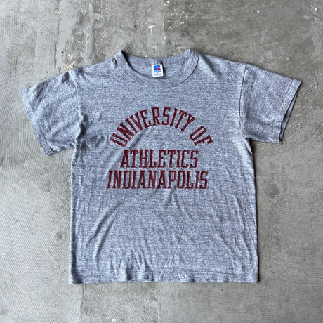 1980s RUSSEL ATHLETIC College Printed Tee
