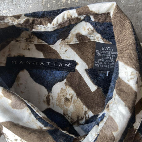 MANHATTAN Rayon Shirts