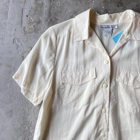 Anna and Frank Silk Open Collar Shirts