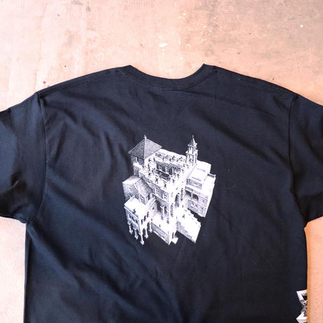 M.C.Escher エッシャー official printed Tee