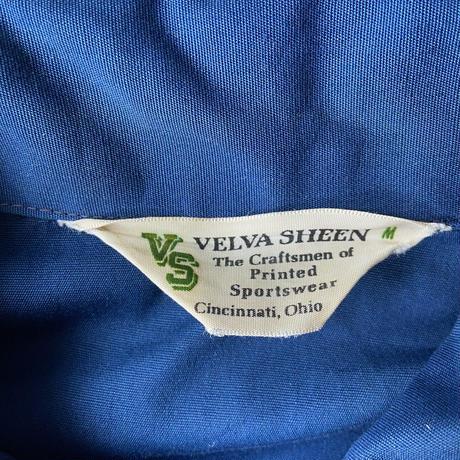 1970s VELVA SHEEN Raglan Swing Top